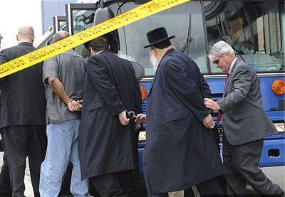 zatknutí židia