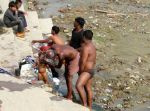 cleaning on ghats